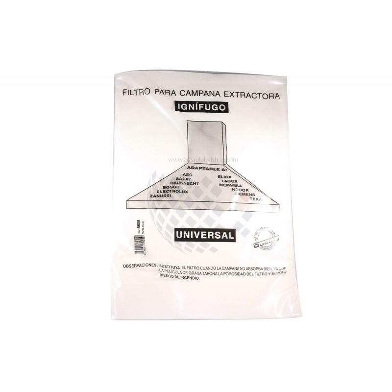 Filtro campana extractora 60x45 papel - Filtro campana extractora ...