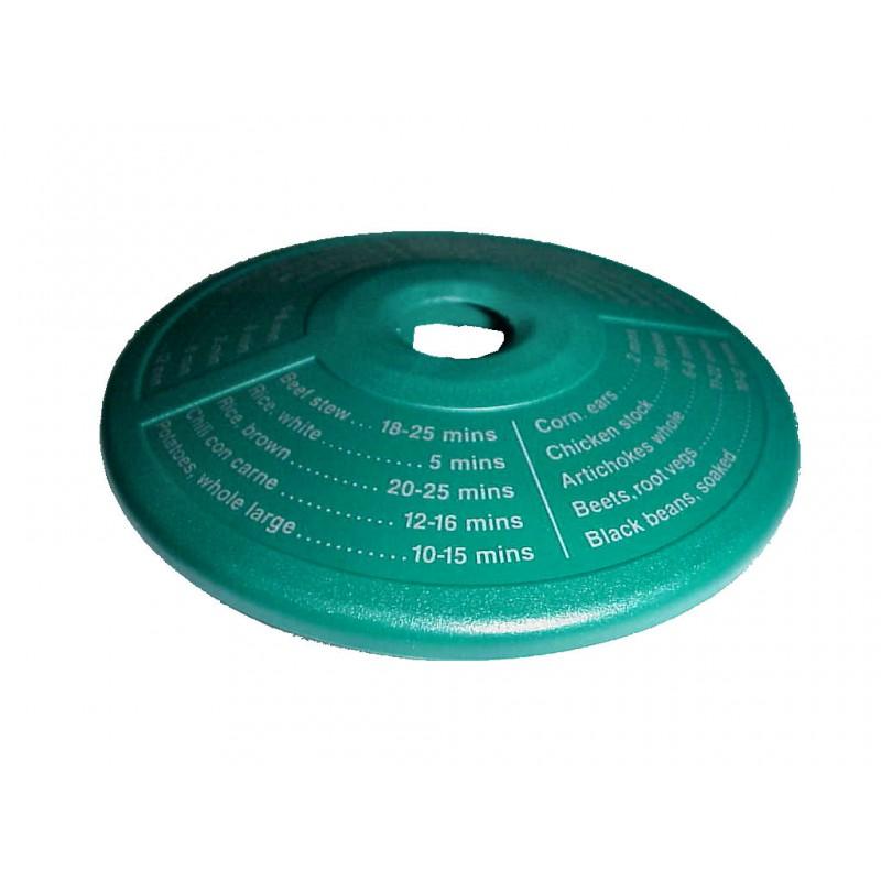 Disco indicador de tiempos de coccion verde duromatic - Tiempo de coccion de judias verdes ...