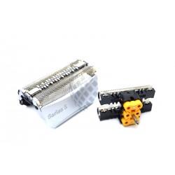 Lamina + cuchilla Braun 51S (8000 Series) - Series 5, ContourPro, 360µ Complete,Activator Plata
