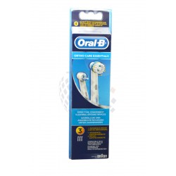 Cabezal Ortho Care Essentials para cepillo dental electrico Braun