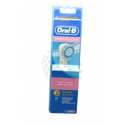 Cabezal Sensitive Clean para cepillo dental electrico Braun