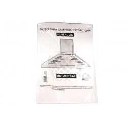 Filtro campana extractora. 60x45 papel