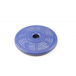 Disco indicador de tiempos de coccion, azul. Adaptable para Duromatic Supreme
