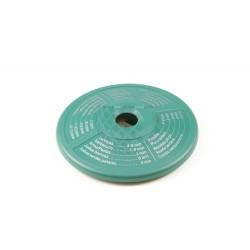 Disco indicador de tiempos de coccion, verde. Adaptable para Duromatic Supreme